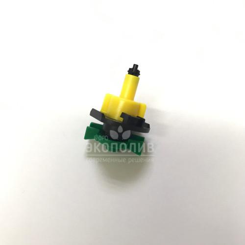 Микросплинкер (зелено-желтый) 360°, 66 л/ч, GH