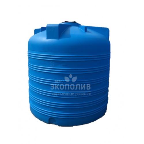 Емкость круглая вертикальная V-5000 (голубая)