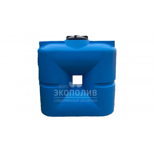 Емкость плоская В1000 (голубая)
