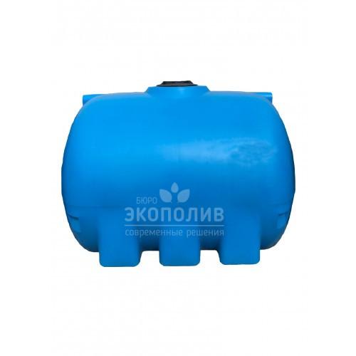Емкость круглая горизонтальная G-5000 (голубая)