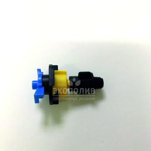 Микросплинкер подвесной (желто-синий) 360°, 66 л/ч, GH