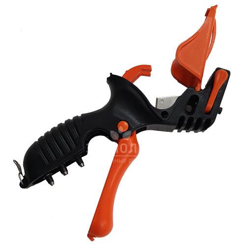 Дырокол Trigger 3 (оранжево-черный) Al-magor
